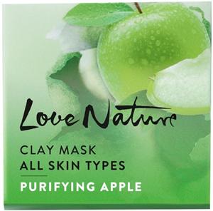Oriflame Love Nature Agyagos Maszk Minden Bőrtípusra Tisztító Almával