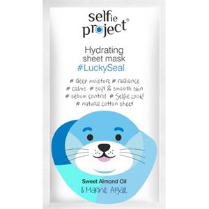 Selfie Project Hidratáló Szövetmaszk #LuckySeal