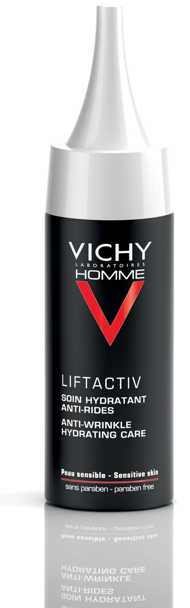 Vichy Homme Liftactiv Ránctalanító Arckrém