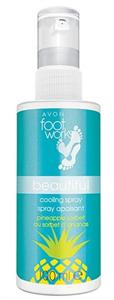 Avon Foot Works Ananászos Hűsítő Lábspray