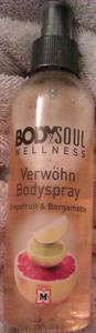 Body&Soul Wellness Kényeztető Testpermet Grapefruit & Bergamott