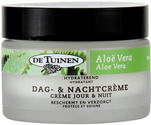 De Tuinen Hydraterend Dag- En Nachtcreme Aloe Vera
