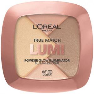 L'Oreal Paris True Match Lumi Powder Glow Illuminator Blush & Highlight