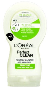 L'Oreal Perfect Clean Habzó Zselés Arclemosó Kombinált és Zsíros Bőrre