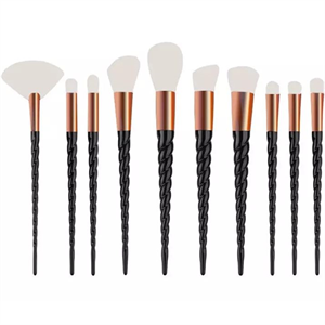 Mayani Design Unicorn Brush Set Spiral Ecsetkészlet - Black