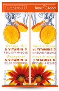 Face Food Lehúzható Narancsos Arcmaszk C-Vitaminnal