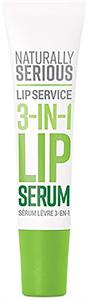 Naturally Serious Lip Service 3-In-1 Ajakszérum