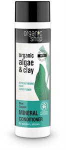 Organic Shop Kék Lagúna Erősítő Balzsam Bio Alga és Agyag Kivonattal