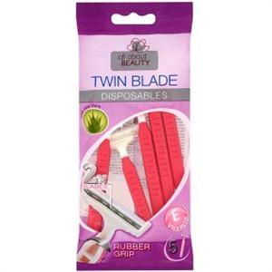 All About Beauty Twin Blade Eldobható Női Borotva