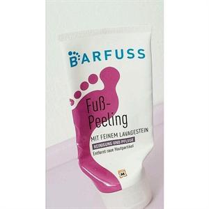 Barfuss Fuß-Peeling
