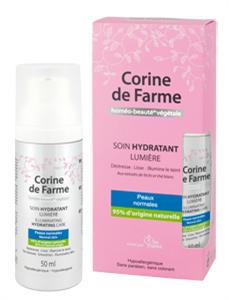 Corine de Farme Illumine Könnyű Hidratáló Krém