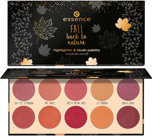 Essence Fall Back to Nature Highlighter & Blush Palette