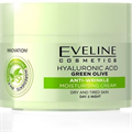 Eveline Hialuronsav, Zöld Olíva Hidratáló Ránctalanító Krém Száraz és Fáradt Bőrre
