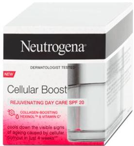 Neutrogena Cellular Boost De-Ageing Nappali Arckrém SPF20