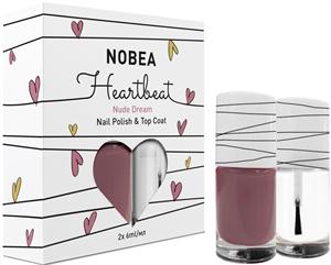 Nobea Heartbeat Körömlakk és Fedőlakk Szettben