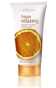 Oriflame Happy Relaxing Kézkrém (Narancs Illatú)