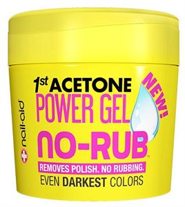 Nail-Aid 1St Acetone 1No-Rub Power Gel Körömlakklemosó Makacs Sötét Lakkokhoz