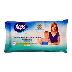 Hops Antibakteriális Nedves Törlőkendő