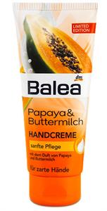 Balea Handcreme Papaya & Buttermilch
