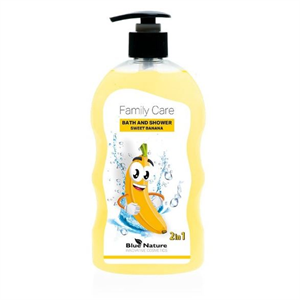 Betterware Family Care Édes Banán Tusfürdő Zuhanyzáshoz és Fürdéshez