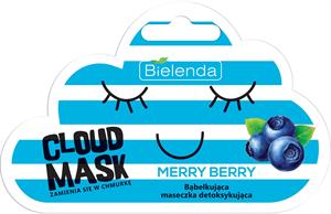 Bielenda Cloud Mask Merry Berry Méregtelenítő Hatású Buborékmaszk