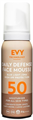 Evy Daily Defense Face Mousse SPF50
