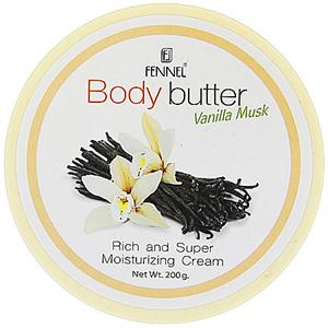 Fennel Body Butter Vanilla Musk