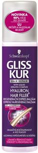 Gliss Kur Hair Repair Hyaluron Hair Filler+ Expressz Hajregeneráló Balzsam