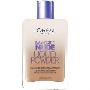 L'Oreal Paris Magic Nude Liquid Powder Bare Skin Perfecting Makeup SPF 18