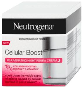 Neutrogena Cellular Boost De-Ageing Éjszakai Arckrém
