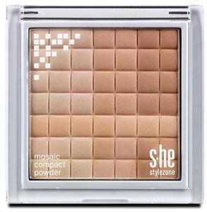 s-he stylezone Mosaic Compact Powder