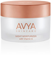 AVYA Skincare Night Moisturizer with Vitamin A