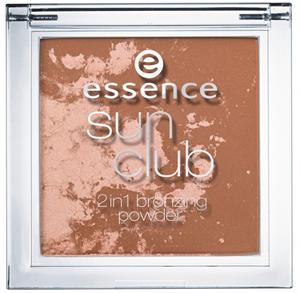 Essence Sun Club 2In1 Bronzosító Púder