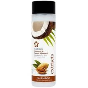 Superdrug Extracts Caring Coconut & Sweet Almond Sampon