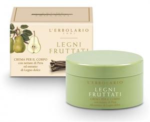 L' Erbolario Legni Fruttati Fruits & Woods Tápláló Testápoló Krém