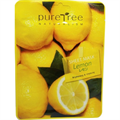 PureTree Naturalism Sheet Mask Lemon