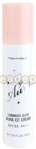 Tonymoly Glow Aura Luminous Glow Aura CC Cream SPF30 Pa++