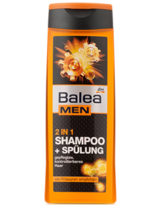 Balea Men Power Effect 2in1 Sampon és Balzsam