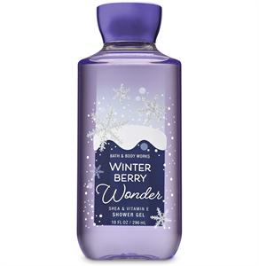 Bath & Body Works Winter Berry Wonder Shower Gel