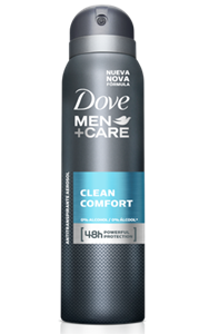 Dove Men Care Clean Comfort Deo Spray