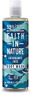 Faith In Nature Natural Fragrance Free Body Wash
