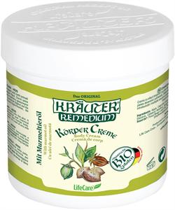 Kräuter Gyulladáscsökkentő Testápoló Krém, Mormotaolajjal és Bio Gyógynövényekkel
