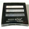 Miss Rose Shiny Color Wet Szemhéjpaletta
