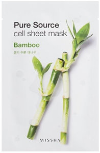 Missha Pure Source Cell Sheet Mask Bamboo