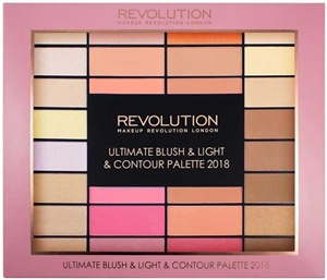 Revolution Ultimate Blush & Light & Contour Palette 2018