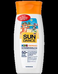 Sundance Kids 50+ Hidratáló Naptej Gyermekeknek