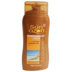 Sun Ozon Önbarnító Tej Normál és Sötét Bőrtípushoz