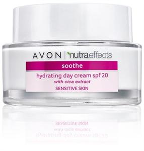 Avon Nutraeffects Soothe Hidratáló Nappali Krém SPF20