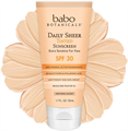 Babo Botanicals Daily Sheer Tinted Facial Mineral Sunscreen SPF30
