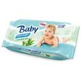 CBA Baby Wet Wipe Törlőkendő Aloe Verával